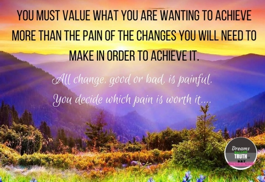 Pain of Change