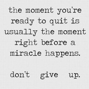 Do not give up (3)